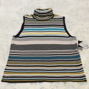 Striped Liz Claiborne T-Neck